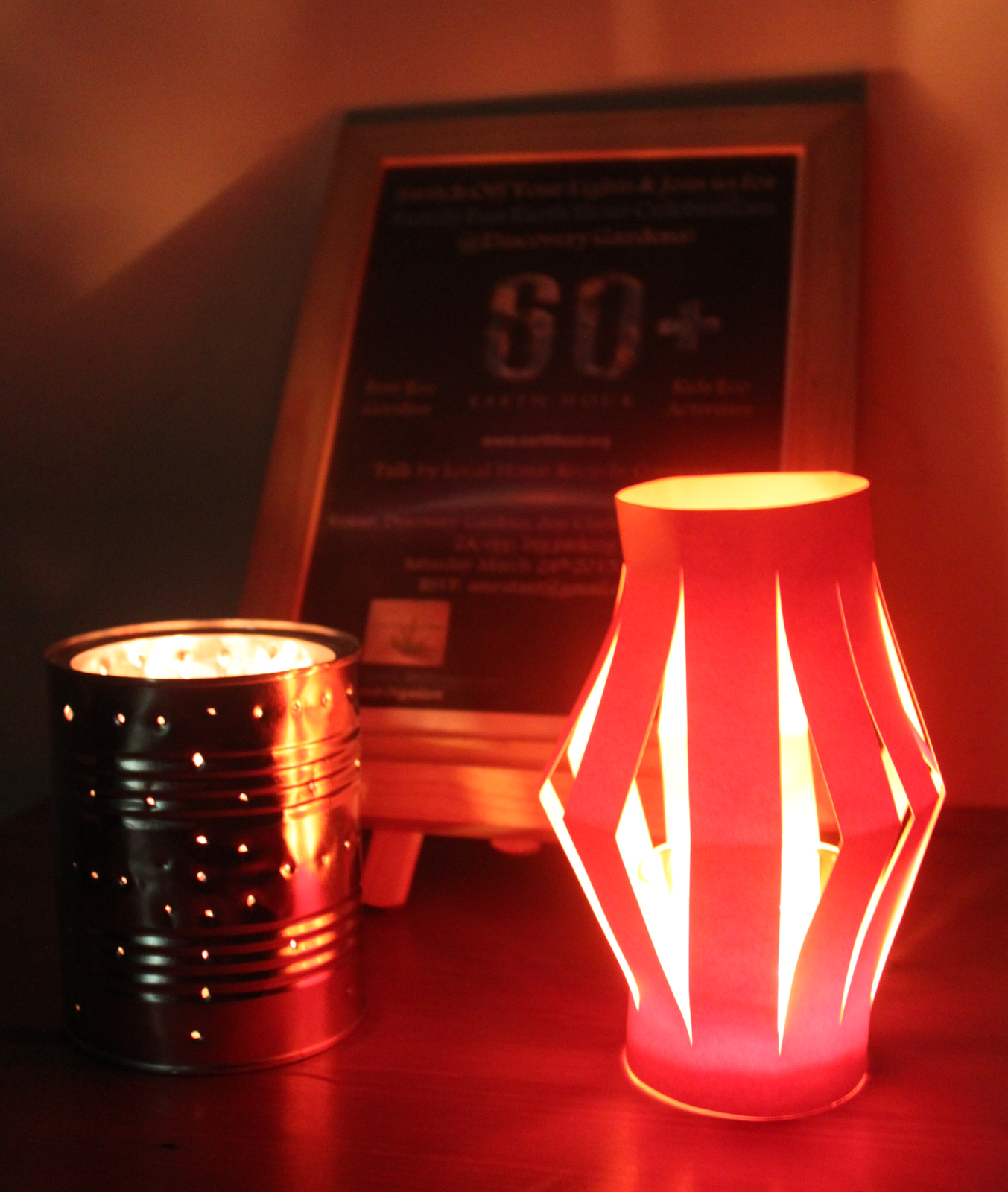 Earth hour 2015 community celebrations sustainable tribe for Recycled paper lantern